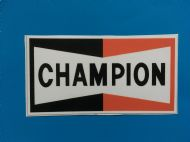 CHAMPION stickers/decals x2